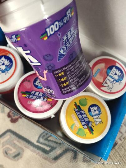 益达(Extra)尊享护齿56g*3瓶京东定制装(草本精华+冰柠+清新西柚)(新旧包装随机发) 晒单图