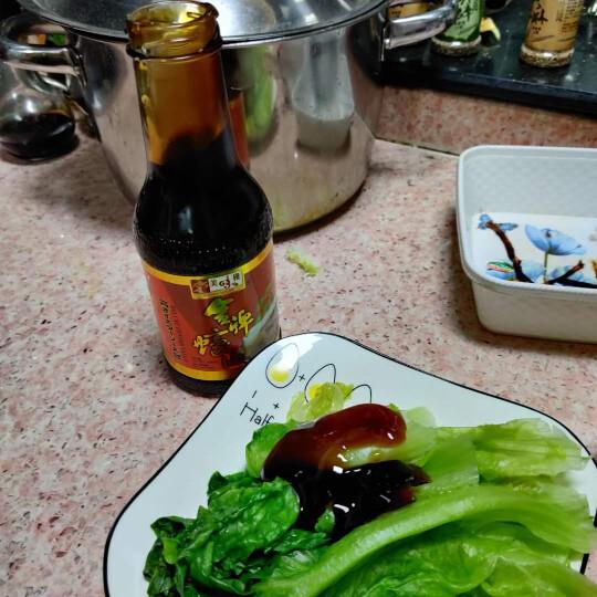 【199减80】美味栈(YUMMY HOUSE) 香港进口鲍鱼汁蚝油鸡汁拌面酱海鲜调味料酱料调味品 金牌蚝油 380ml 晒单图