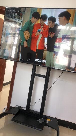NB AVA1800-70-1P(55-80英寸)移动电视支架视频会议显示器移动推车通用落地电视挂架电视推车电视支架落地 晒单图