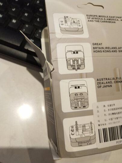出国转换插头插座转换器非万能 全球通用出国外旅游多功能能转换头多功能充电器插座欧洲电源转化插头 【升级款】双USB 晒单图