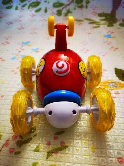 益米 儿童玩具男孩卡通遥控汽车赛车 电动男孩玩具车模型 黄 晒单图