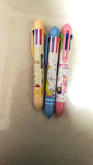 真彩多色圆珠笔6色/7色/8色多功能圆珠笔卡通多色笔3支装真彩原子笔120098 8色3支装120123 晒单图