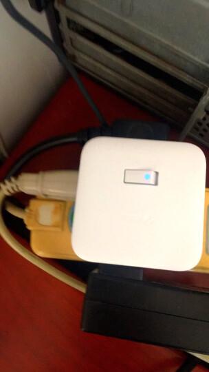 公牛(BULL) 无线魔方USB插座 插线板/插排/排插/接线板/拖线板 3USB接口+3插孔 黑色 GN-U303WH 晒单图