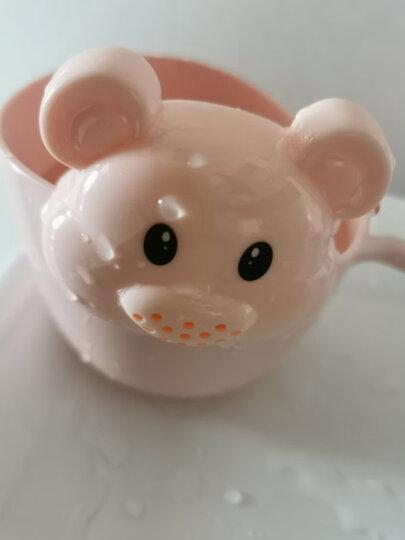 日康(rikang)婴儿洗澡盆水舀宝宝水勺RK-8011粉 晒单图