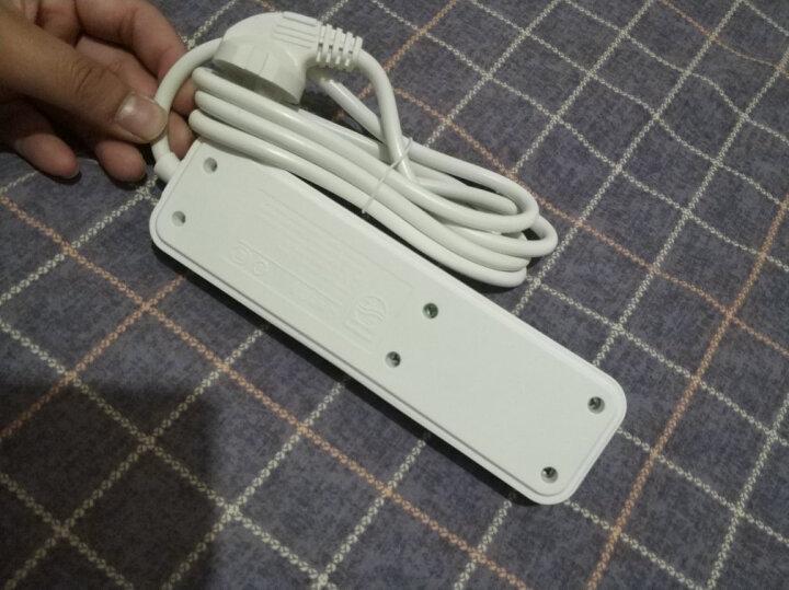 飞利浦(PHILIPS)新国标安全插座 3位总控全长1.8米插排/插线板/排插/接线板 儿童保护门SPS2232A/93 晒单图