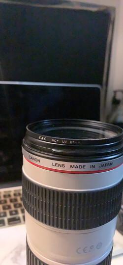 C&C MC UV镜67mm UV镜 mc uv保护镜 单反佳能 尼康 索尼 相机滤镜 滤光镜 超薄双面多层镀膜无暗角 晒单图