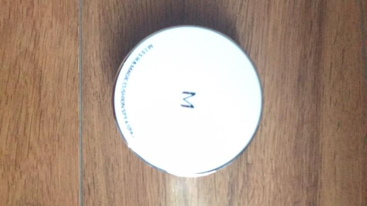 谜尚(MISSHA)魅力莹润无瑕气垫套装SPF47/PA+++ [23号] 15g*3(气垫bb霜防晒霜遮瑕粉底液) 晒单图