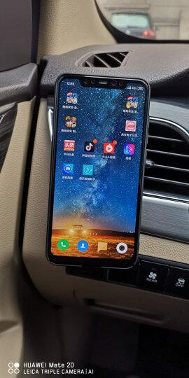 图拉斯(TORRAS)车载手机支架 汽车出风口卡扣磁吸式 适用4-8英寸手机平板导航通用汽车支架 亮黑色 晒单图