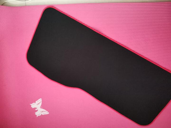灵蛇(LINGSHE)圆形鼠标垫252*252圆形鼠标垫 花盆垫 印章垫 圆形垫 精密包边P20黑色 晒单图
