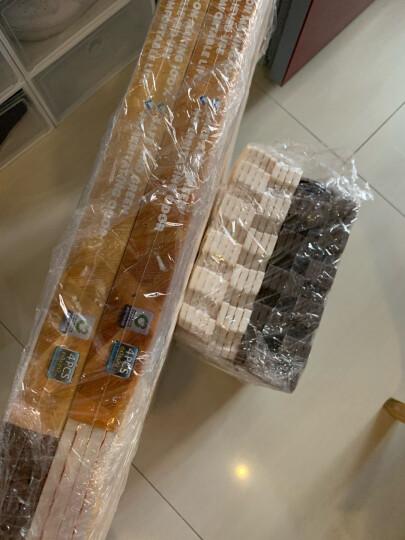 明德Meitoku 棕色木纹泡沫地垫 PE泡沫垫 宝宝爬行垫 客厅卧室拼图地垫环保拼接地垫 60*60*1cm (4片装) 晒单图