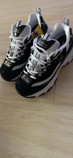 胜道运动Skechers斯凯奇D'lites女鞋休闲鞋 拼接钻石熊猫鞋运动鞋 12241 12241/BKW 35 晒单图