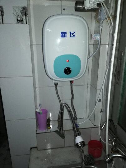新飞(Frestec) 小厨宝8升节能环保储水式小厨宝 厨房热水宝 X18 湖蓝色 8升上出水包安装 晒单图