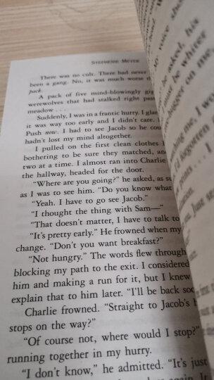 暮光之城 英文原版 5本全套 正版 Twilight Saga Book Set 晒单图