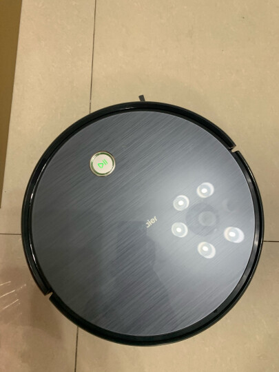 海尔(Haier)扫地机器人智能湿拖家用全自动超薄扫地拖地一体机宠物毛发吸尘器大容量电控水箱 TT53(增配无线手持) 晒单图