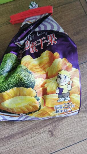 越南进口 沙巴哇(Sabava) 香脆菠萝蜜干果 220g/袋(原味)即食水果干 进口休闲零食小吃 办公室早餐下午茶 晒单图