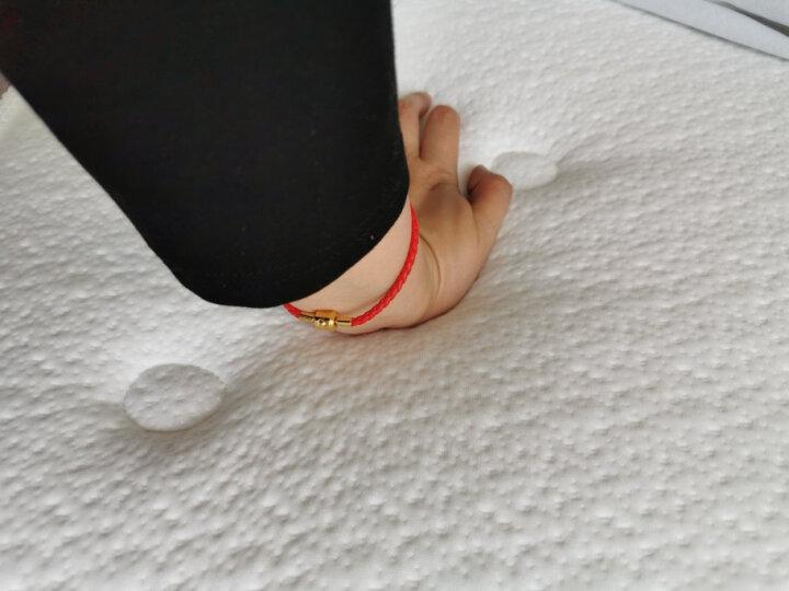 吉斯 床垫 弹簧床垫 加厚 席梦思 1.8米 独立袋装 乳胶床垫 环保棕床垫正反两用 高棉针织面料+低蛋白乳胶+环保棕+7区独立袋装弹簧 1800*2000 晒单图