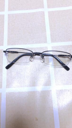 精工SEIKO 近视眼镜框男款商务眼睛超轻半框纯钛光学防蓝光眼镜架配眼镜H1061 金色 配蔡司1.61钻立方防蓝光镜片(适配0-500度) 晒单图