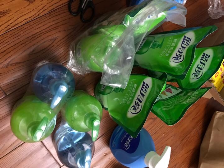 蓝月亮厨卫两用组合洗手液:芦荟500g/瓶+野菊花500g/瓶 清洁抑菌99.9% 去腥去油腻 厨房卫生间两用 晒单图