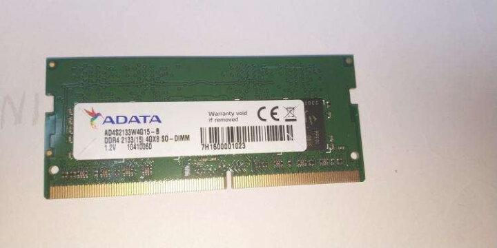 威刚(ADATA)DDR3L 1600  4GB  笔记本内存 低电压版 万紫千红 晒单图