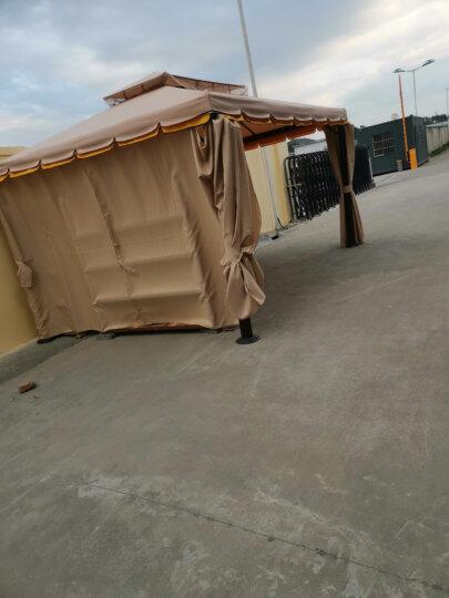 紫叶(ziye)户外遮阳棚摆摊帐篷凉亭花园庭院雨棚罗马帐篷大型广告活动帐篷 立柱加粗 升级款双边3.0*3.0米 晒单图