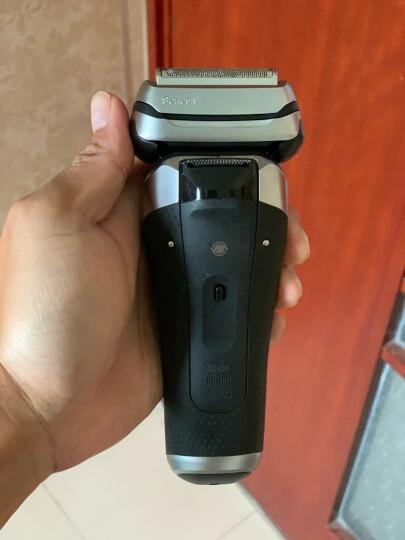 博朗(BRAUN)电动剃须刀全身水洗往复式刮胡刀德国整机进口四刀头9系9290cc智能声波科技 晒单图