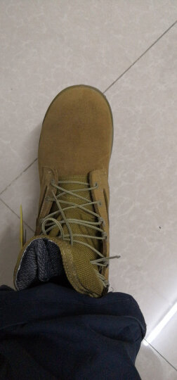 BELLEVILLE 美国百利威军迷靴500海军陆战队防水战斗作战靴EGA沙漠靴子透气进口 美9.5码 晒单图