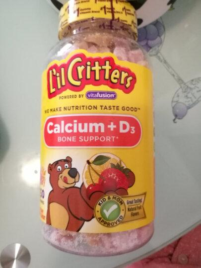 小熊糖 L'ilCritters 儿童营养补钙&VD软糖零食软糖150粒 2岁及以上 美国进口 晒单图