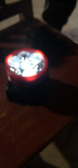 佳格 LED强光头灯太阳能充电远射自行车灯钓鱼野营灯YD3359 晒单图