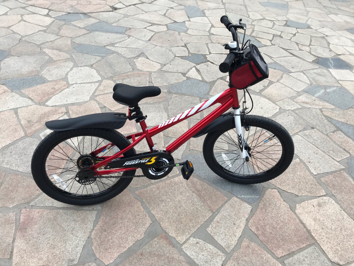 优贝(RoyalBaby) 儿童自行车14寸16寸12/20/18寸男女童表演车单车 粉色 16寸 晒单图