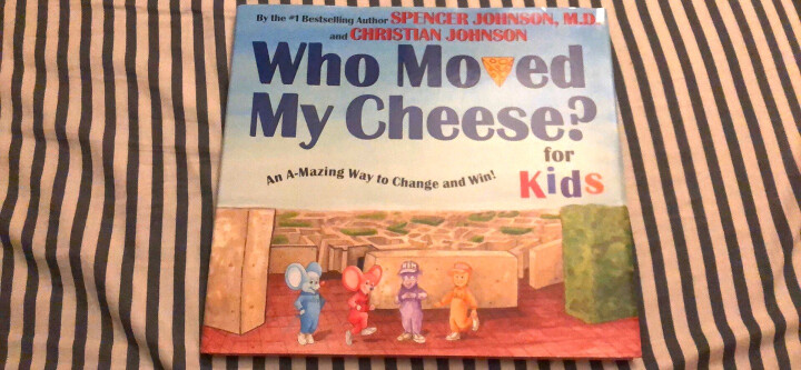 Who Moved My Cheese? For Kids谁动了我的奶酪 晒单图