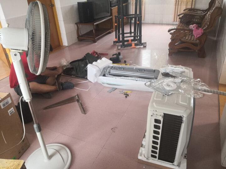 【6年保修】美的(Midea)空调 新一级能效 节能省电 冷暖变频 卧室壁挂式 APP智控 静音空调 【i青春】1.5匹KFR-35GW/N8XHB1 晒单图