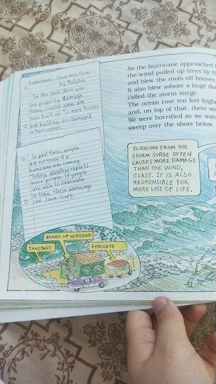 学乐神奇校车经典版绘本:人体的奥秘 1册 英文原版 科普绘本 Scholastic: Magic School Bus  Inside the Human Body 7-12岁 平装  晒单图