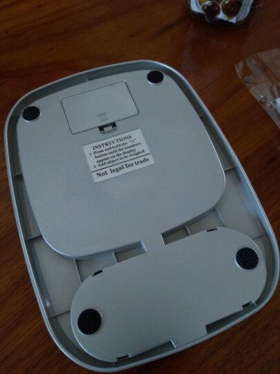 拜杰(Baijie)烘焙秤厨房秤电子秤精准家用迷你克秤食物称 10kg/1g(银色) 晒单图