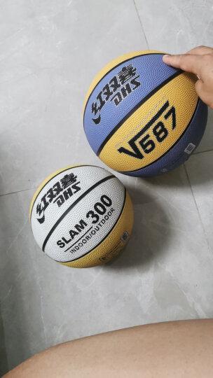 红双喜(DHS)3号儿童橡胶篮球宝宝玩具小皮球学生小蓝球FB300-1 晒单图