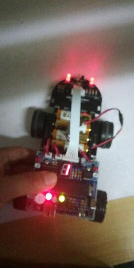 创乐博C51单片机智能小车循迹超声波避障蓝牙寻光遥控灭火机器人套件毕业设计diy制作 套餐二 散件 晒单图