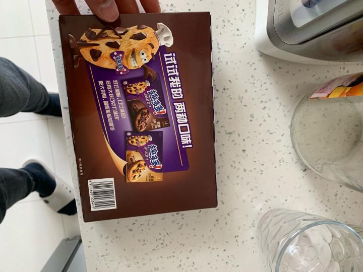 趣多多 浓巧软香饼 双重巧克力味曲奇饼干解馋小零食 80g 晒单图