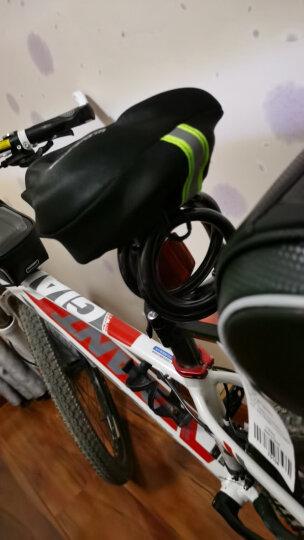 SolarStorm 骑行手套自行车半指夏季户外运动手套 男女款短指骑车手套山地车配件骑行装备 升级款黑色 晒单图