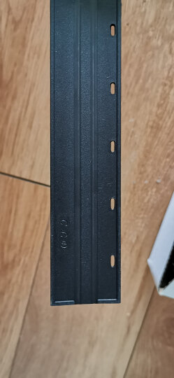 ECHO 爱可装订机10齿优质夹条 适用于梳式胶圈装订夹边条装订机 压条压边条 合同文本标书装订夹条 黑色 15mm/50支 晒单图