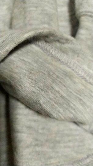 三枪童装 迪士尼款秋冬儿童内衣保暖套装三层暖棉半高领长袖内衣套秋衣秋裤 男童-麦昆半高领-灰 150 晒单图