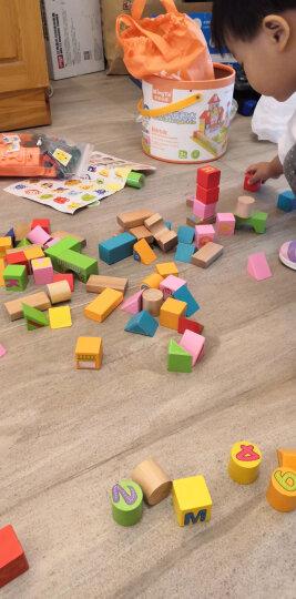 铭塔钓鱼游戏 婴幼儿童男女孩益智玩具早教启蒙 1-3周岁木制质桶装 晒单图