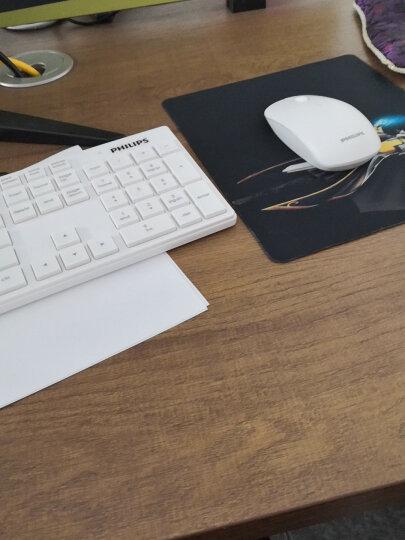 飞利浦(PHILIPS)无线键盘鼠标套装 低音防水 无线键鼠套装 超薄家用办公台式电脑笔记本无线套装 SPT6315白色 晒单图