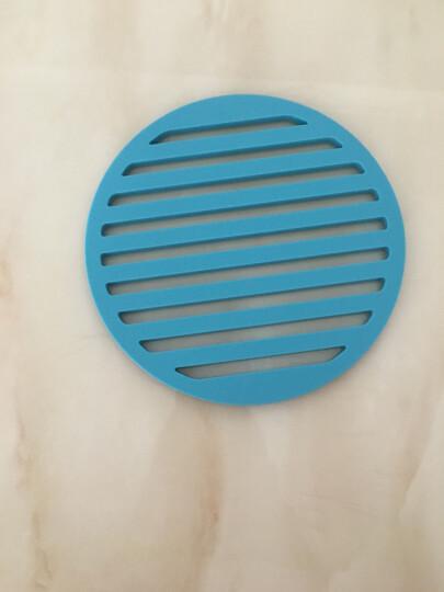 双枪(Suncha)合金硅胶隔热垫 锅垫碗垫盘子垫餐垫 防水防烫防滑垫 四色组合套装 DZ3164 晒单图