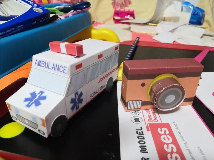 美乐(JoanMiro)儿童手工益智玩具 立体折纸 3D纸膜馆套装(厨房、饰品、创意生活) 晒单图