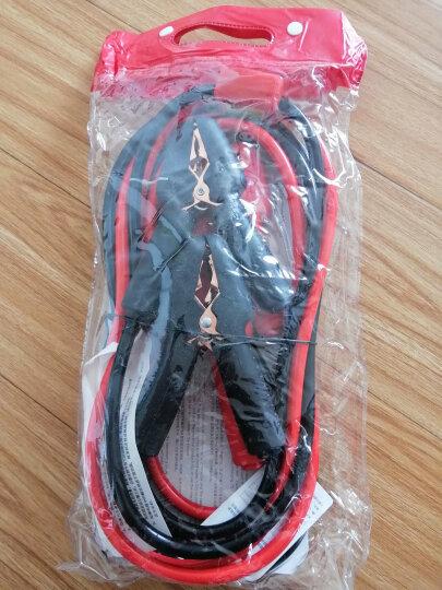 沿途汽车电瓶线搭火线 过江龙电池夹子搭电线鳄鱼夹连接线打火线 3米电流保护不漏电+正反提示灯 晒单图