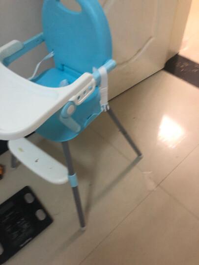 Tobaby 宝宝餐椅婴儿便携儿童餐桌椅子多功能可折叠吃饭餐椅 TB-518天蓝色 晒单图