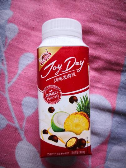 伊利 JoyDay 风味发酵乳 巧克力豆+菠萝+椰子酸奶酸牛奶 190g*1(2件起售) 晒单图
