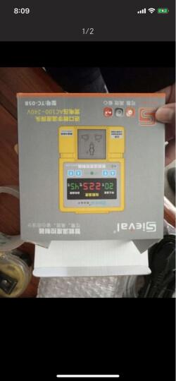 西法TC-05B地暖温控器高精度数显温控仪智能温度控制器大棚温控开关插座配防水探头 TC-05B温控器(配20米探头) 晒单图