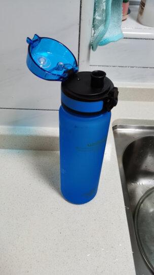 UZSPACE 优之运动水杯夏季 儿童Tritan塑料水壶男女小学生炫彩磨砂随手杯 提绳便携弹盖杯子 宝蓝 500ML 晒单图