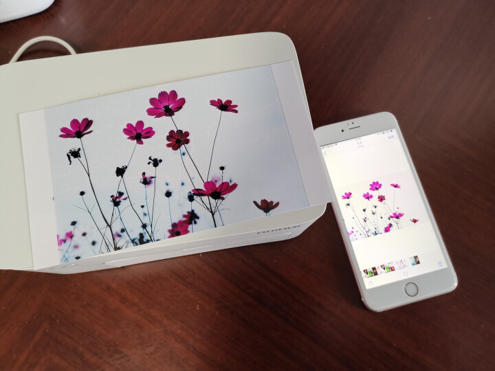 富士(FUJIFILM)Princiao Smart 小俏印 手机无线照片打印机 晒单图