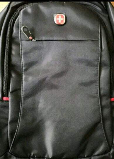 SWISSGEAR瑞士包双肩包华为电脑包15.6英寸 商务背包男女休闲大容量旅行包中学生书包 SA-9037黑色 晒单图